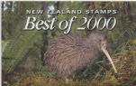 New Zealand Stamp Rewards Best of 2000 set of 3 miniature sheets with pack